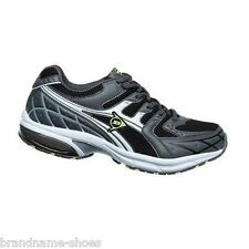 NEW MENS DUNLOP MENS KT DASH RUNNERS RUNNING GREY BLACK CASUAL SNEAKERS SHOES