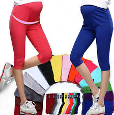 Capris Leggings Pregnant Women Cotton Elastic New Comfortable Maternity 7 Pant