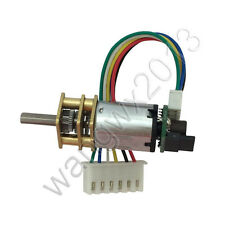 1PCS N20 DC6V Speed Reduction Gear DC Motor with Metal Gearbox Encoder Coder