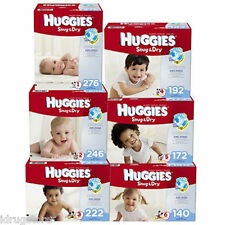 Huggies Snug & Dry Diapers Size 1, 2, 3, 4, 5, 6 - PICK ANY SIZE & QUANTITY