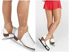 INTERMEZZO  STIRRUP SKATING TIGHTS WITH *ABOREAL* CRYSTALS ON BOTH ANKLES.