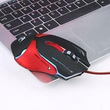 6D LED Optical USB 3200DPI Wired Pro Gaming Mouse Mice For PC Laptop lot мышь