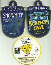3 Castle Rock Brewery used pump clips as scan (1)