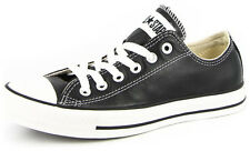New Men's Converse Chuck Taylor Leather Ox Black/white Footwear Sneakers Shoe...