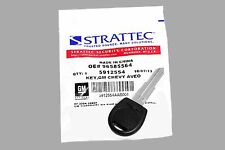 Strattec 2005 Chevrolet Aveo Transponder Key with Logo - 5912554
