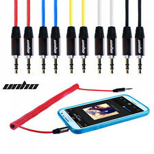 Universal 6FT AUX Cable Audio Auxiliary 3.5MM Cord for PC MP3 iPhone iPod Car