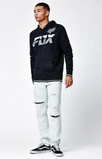 FOX RACING DEVIANT PULLOVER FLEECE BLACK HOODIE  MEN'S GUYS NEW  $69