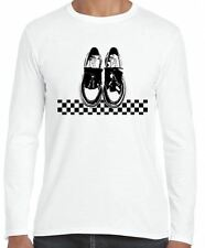 SKA DANCING SHOES LONG SLEEVE T-SHIRT - Madness The Specials 2 Tone