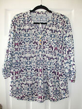 ladies butterfly print top from Store Twenty One size 22 NEW