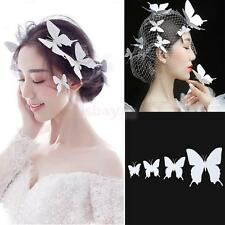 4Pcs Animal Handmade Butterfly Hairpin Hair Clips Barrette Bridal Headpiece