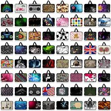 "Many Designs 13"" 13.3"" Neoprene Notebook Laptop Case Bag Pouch Sleeve +Handle"