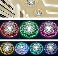 Modern Round Shaped Crystal LED Ceiling Light Pendant Lamp Linghting Chandelier