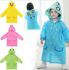 Funny Rainwear Cartoon Baby Waterproof Cute Raincoat Kids Hot Children