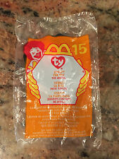 NEW 2000 McDonalds TY Beanie Babies Happy Meal Toy # 15 Sting the Ray
