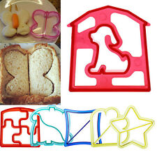 DIY Fun Kids Sandwich Toast Cookies Cake Bread Biscuit Food Cutter Mold Mould