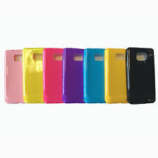 Color Glossy TPU Gel Silicone Case Skin Cover for Samsung Galaxy S2 i9100