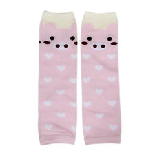 Leg Warmers Sock Kid Girl Boy Baby Stocking Filler Christmas  Present (Pink)  CP