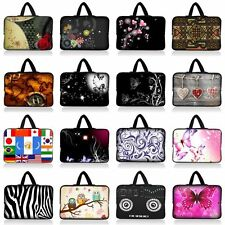 "Neoprene 15 inch 15.4""15.6"" Girl Laptop PC Sleeve Bag Case Cover w/ Hide Handle"