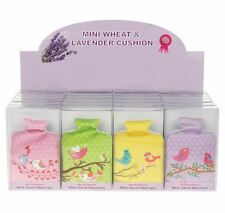 HOTWATER BOTTLE SHAPED WHEAT AND LAVENDER HAND WARMERS MICROWAVE HANDWARMER