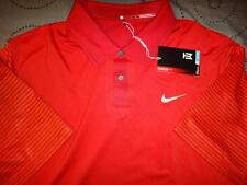 NIKE TIGER WOODS COLLECTION GOLF DRI-FIT POLO SHIRT L MEN NWT $$$$