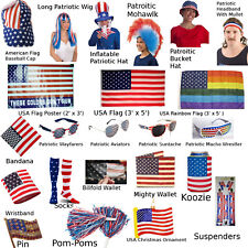 Patriotic American Flag Products (Choose Your Product) July 4 USA Stars Stripes