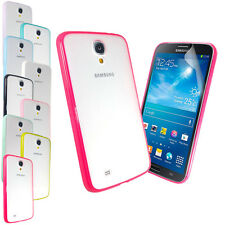 NEW SOLID GLOSSY BUMPER CASE COVER FOR SAMSUNG GALAXY MEGA 6.3 i9200+SCREEN FILM