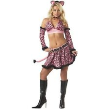 Adult Sexy Pink Kitty Costume