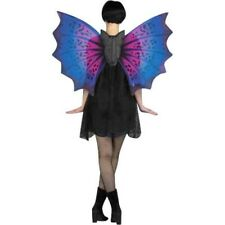 Adult Purple Costume Bat Wings
