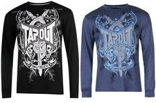 Tapout Printed Long Sleeve T Shirt Mens UFC Long Sleeves Top ~All Sizes S- XXL