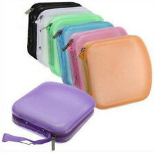 Case CD Wallet Carry Storage Holder Pocket 40 Protector Travel Portable DVD New