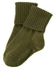 Nwt Gymboree Olive Green Fold Over Sock Size 0-6 Months