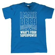 I Make Beer Disappear Mens Funny T Shirt - Christmas Gift for Dad Grandad Him