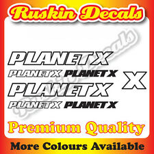 Premium Quality Planet X OL Bike Decals Stickers mountain bike road frame bmx