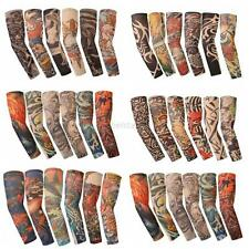 Lot Stretch Cool Arm Sleeves Cover Tattoo Warm Team Sun Armband Skin Protection