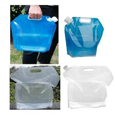 Large / Small Collapsible Camping Hikiing Emergency Water Storage Carrier Bag