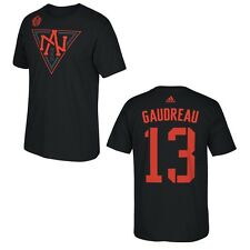 North America World Cup of Hockey Johnny Gaudreau Black Name and Number T-Shirt