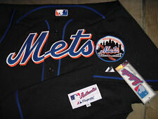 "NEW YORK METS ""AUTHENTIC COLLECTION"" PRO-CUT ""BLACK"" MAJESTIC MLB JERSEY NWT $$"
