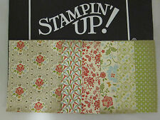 Stampin' Up Designer Series Paper Card Front Layers A2 DSP Fronts RETIRED!