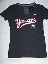 Nike Women's Cooperstown Collection New York Yankees SlimFit Shirt NWT