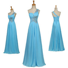 Grace Karin Chiffon Long Formal Evening Bridesmaid Prom Maxi Dress Ball Gown new
