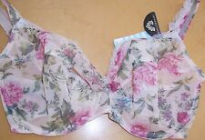 Lejaby new cream floral non padded underwired bra
