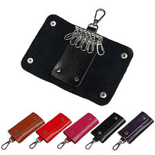 Hot Men Wallet Women Leather Key Chain Accessory Pouch Bag Case Key Holder coin