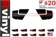 Rtint Tail Light Tint Precut Smoked Film Covers for Nissan Altima 1998-2001