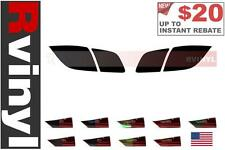 Rtint Tail Light Tint Precut Smoked Film Covers for Mazda Mazda3 04-09 Hatchback