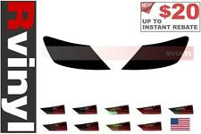 Rtint Tail Light Tint Precut Smoked Film Covers for Honda Civic 2006-2011 Coupe