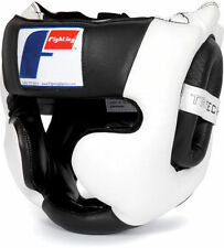 "Fighting Sports Tri-Tech Full Training Headgear w/Free  Rival 180"" Handwraps"