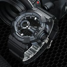 OHSEN Men's Quartz Alarm Chronograph Date Sport Shock Analog Digital Wrist Watch