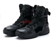 Hot Sale Tactical Leather Combat Military Ankle Boots Mens Army Shoes Size  H7-7