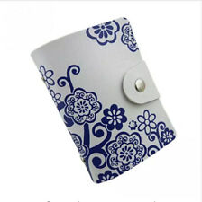 New Holder Business Card Case Creative Leather Box Gift ID Credit Card