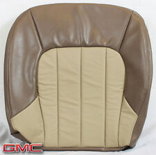 02-03 GMC Envoy SLT-Driver Side Bottom Replacement Leather Seat Cover 2-Tone TAN